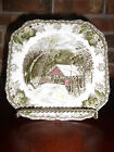 Vintage Johnson Bros. The Covered Bridge The Friendly Village Plate