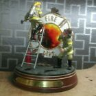 HEROES AT WORK The Bradford Exchange Firefighters Limited Edition Rare 2001 9/11