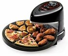 Rotating Oven Pizza Tray Heating Nonstick Baking Pan Kitchen Healthy Cooking New