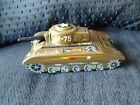 Vintage army M-75 tank working toy