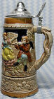Music Box Stein, Lidded, Vintage Apex Import, Musical Beer Mug 9