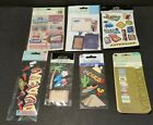 Scrapbooking Craft Stickers Embellishments Lot 7 Packs Vacation Travel Themed