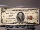 US $100 Hundred Dollars Bill 1929 , Chicago,ILL Currency Brown Seal