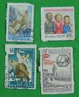Vintage 1951-59 Soviet Russian Russia USSR Lot 4 Stamps Stamp