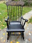 Antique Boston Rocking Chair, late 1800s