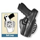 Gould  Goodrich B807 PM9 Black Paddle Holster KAHR PM9 40 45 Black Right Hand