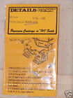 HL117 Twin Sealed beam light for Diesel  Details West HO scale Cast detail parts