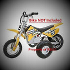 ONE SET OF RAZOR MX 400  350 TRAINING WHEELS MX350 MX400 ELECTRIC BIKE