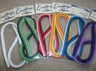 QUILLING PAPER STRIPS 1 8 WIDTH APPROX 24 LONG 550 PIECES 6packs