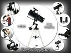 Celestron Powerseeker 127EQ Reflector Telescope Planetarium Software Tripod NEW