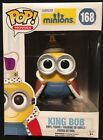 FUNKO Pop! Movies Minions King Bob Vinyl Figure 168 New