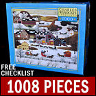 Charles Wysocki - Gifts Antiques And Cakes - 1000 Piece Puzzle Americana Snow
