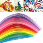 160 Stripes 22 Color Quilling Paper Origami PaperCraft Artwork Tool 3x390mm