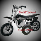 ONE SET OF RAZOR MX 400  350 TRAINING WHEELS MX400 MX350 ELECTRIC BIKE