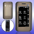 for LG KF700 Silicone Gray Skin Protective Case Cover
