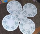 CASTLETON China CAPRICE 4  Dinner Plate + 1 Luncheon Plate Retired
