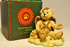 Boyds Bears & Friends: Clarence - Angel Bear (Rust) 20291 Bearstone Collection