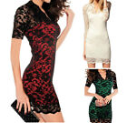 Hot Cheap Woman Ladies Clothing Dinner Short Rubbery Blouse Dress Skirt New Size