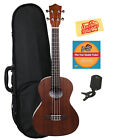 Lanikai LU 21T Tenor Ukulele w Hard Case Tuner Instructional DVD