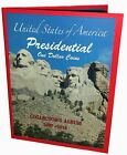 Lot of 40 US PRESIDENTIAL 1 ONE DOLLAR COINS COLLECTORS ALBUM BOOK 2007 2016