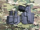 Armor Gray Kydex SIG P226R Holster w Matching Mag Carrier