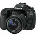 Canon EOS 80D Digital SLR Camera w 18 55mm Lens