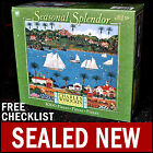NEW Charles Wysocki - Old California - 1000 Piece Seasonal Splendor Puzzle Boats