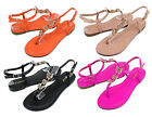 Grayson 17 New Fashion Butterfly Stone Flats Sandals Gladiator Party Women Shoes