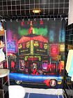 Officially Licensed Scott Ewalt Show World Shower Curtain NYC Gay Times Square