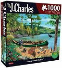 Karmin International J. Charles Unexpected Visitors Puzzle (1000-piece)