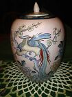 Japanese Porcelain Hand Decorated in Macau Urn Vase