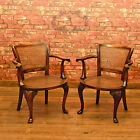 Cane Arm Chairs, Bergere, Early C20th