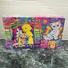 LOT OF 2 LISA FRANK UNUSED 48 PIECE JIGSAW PUZZLES RAINBOW MATINEE