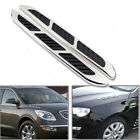 Chrome Car Hood Side Air Intake Vent Exterior  Decorative Intake Grille Sticker