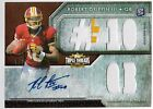 2012 Triple Threads Pig Skin Robert Griffin III Auto 2 Color Patch Rc # TRUE 1 1
