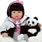 Lifelike Realistic Asian Newborn Weighted Baby Girls Doll Bamboo Alive Reborn