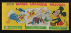 Walt Disney Magic Erasable Pictures by Transogram Mickey Mouse Donald Duck Pluto