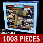 Charles Wysocki - Country Village- 1000 Piece Puzzle Autumn Americana Amish Town
