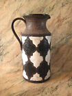 RAYMOR/BITOSSI Large Moroccan Pitcher #8570B HAND-PAINTED Black/White ITALY VTG