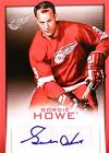 13-14 panini spring expo gordie howe detroit red wings autograph auto