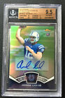 Andrew Luck 2012 BGS 9.5 GEM MINT Finest Moments Refractor Auto RC