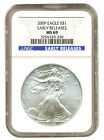2009 Walking Liberty American Eagle Silver Dollar MS69 Early Release slabbed