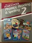 A Beka Phonics Reading  Spelling Curriculum Lesson Plans 2nd Grade
