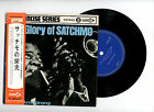 LOUIS ARMSTRONG EP PS Japan GLORY OF SATCHIMO w/OBI RUSSIAN LULLABY
