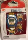 Minions Kids Despicable Me LCD Digital Watch NEW