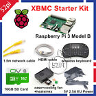 Raspberry Pi 3 XBMC KODI OSMC Media Center Kit RF Remote Case 16GB SD Card HDMI