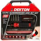Ratchet Screwdriver & Socket Set 101pc Star Torx Bits Screw Driver Ratchet Bit