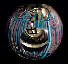 Studio Art Glass Orb Paperweight Signed George Jercich Hand Blown California