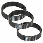 3 x Toothed Rubber Planer Driver Belt for Black & Decker 7696 Type 6 and 7