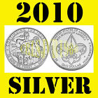 2010 Boy Scouts of America Coin Silver Dollar Uncirculated US Mint Box w COA